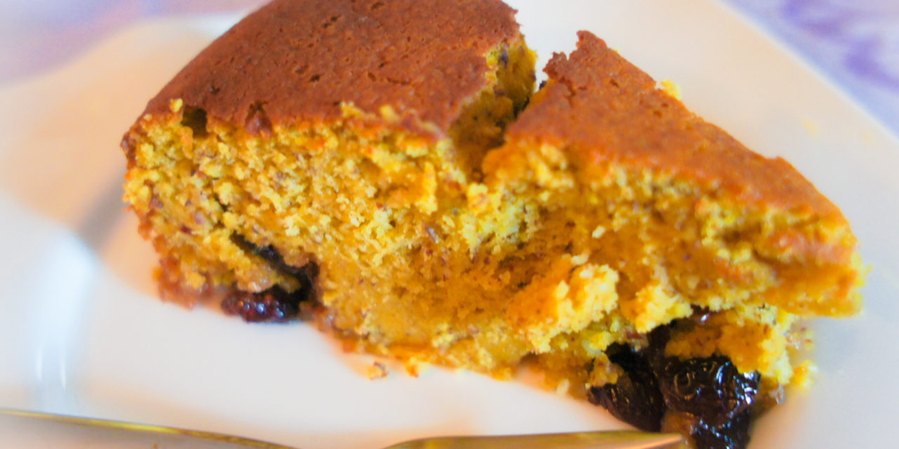 Kürbis-Cranberry Kuchen