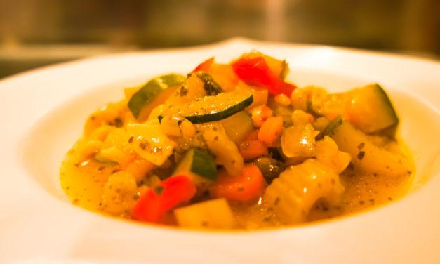 Minestrone di Verdure – Italienische Gemüsesuppe