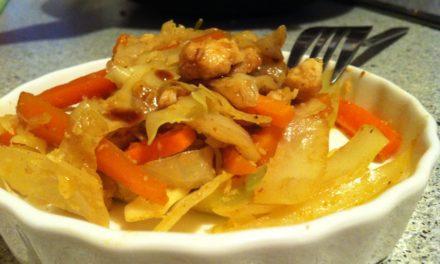 Pangasiusfilet mit Asia Gemüse & Reis