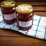 Himbeer-Sekt-Marmelade mit Melisse