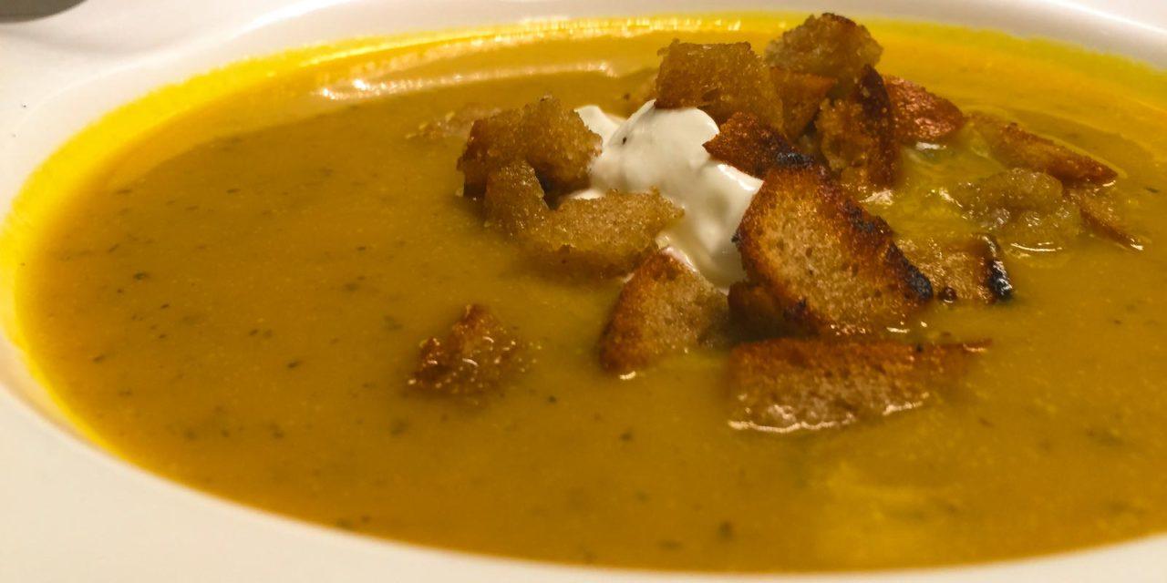 Restlrezept: Kürbissuppe