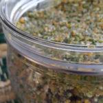 Gemüsewürzpaste mit Salz