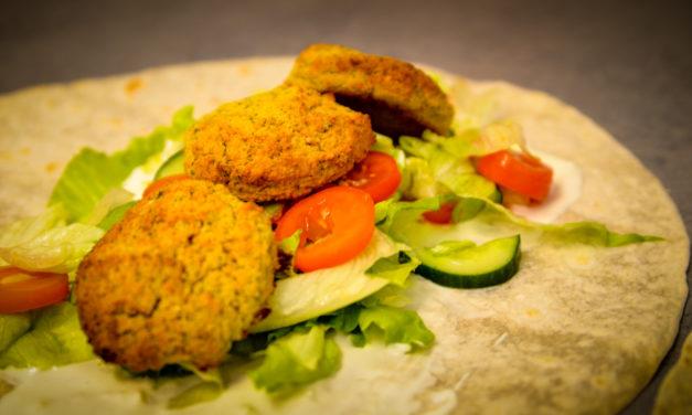 Backrohr-Falafel